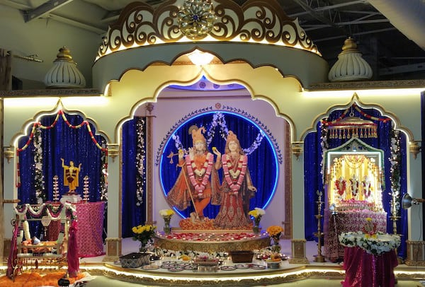 RGD shrine at Ram Navmi